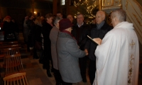 Odnowienie przyrzeczeń małżeńskich w Swięto Świętej Rodziny, 31 grudnia2017r.
